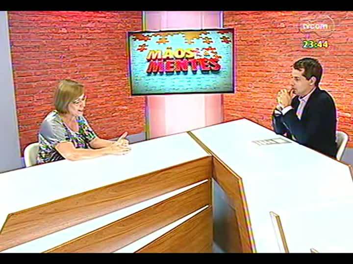 Mãos e Mentes - Especialista em educação à distância, Mára Carneiro - Bloco 2 - 01/02/2013