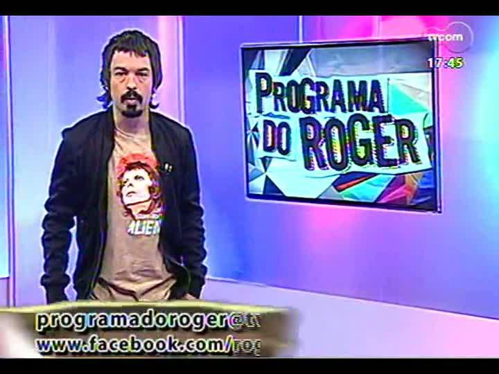 Programa do Roger - Confira a participação da banda De Falla - bloco 1 - 07/02/2013