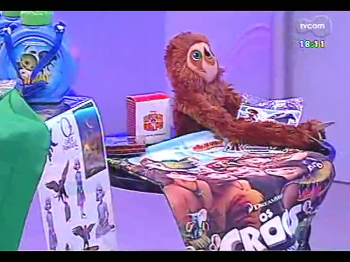 Programa do Roger - Confira o novo clipe da banda Cachorro Grande - bloco 3 - 29/03/2013