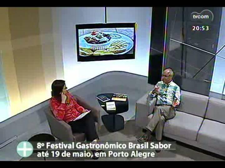 """TVCOM Tudo Mais - Detalhes sobre a programação do festival gastronômico \""""Brasil Sabor\"""""""