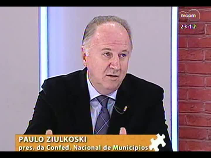 Mãos e Mentes - Presidente da Confederação Nacional dos Municípios, Paulo Ziulkoski - Bloco 2 - 04/08/2013