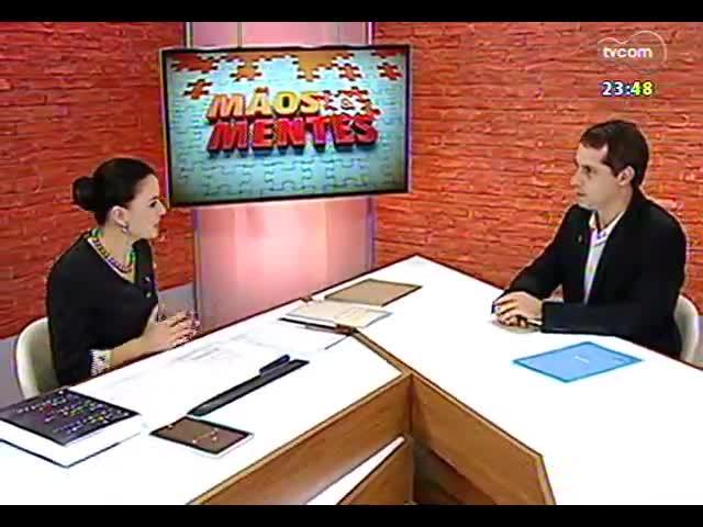 Mãos e Mentes - Presidente da 9ª Bienal do Mercosul, Patricia Duck - Bloco 2 - 27/09/2013