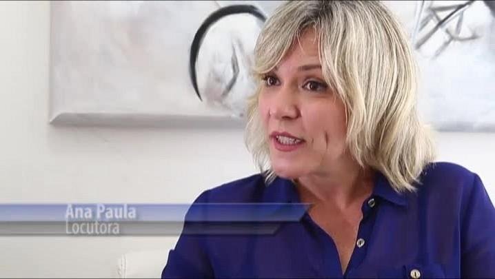 Entrevista com a locutora Ana Paula