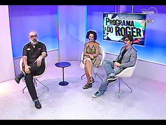 Programa do Roger - Roger Lerina fala com atores da Turma da Companhia do Giro - Bloco 2 - 15/01/2014