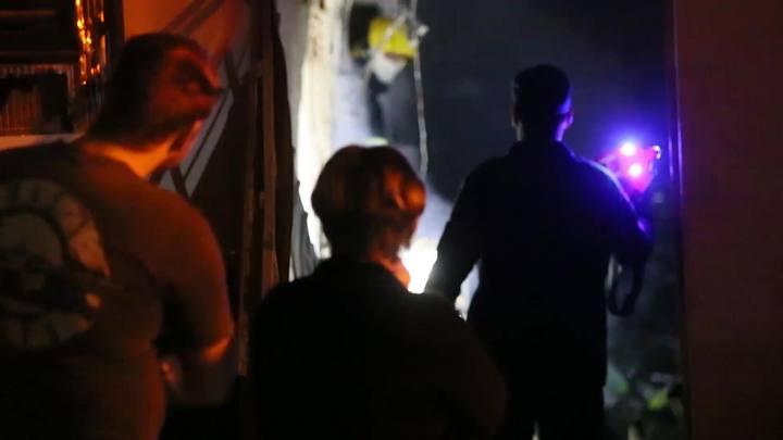 Incêndio destroi estoque de supermercado nos Ingleses, em Florianópolis