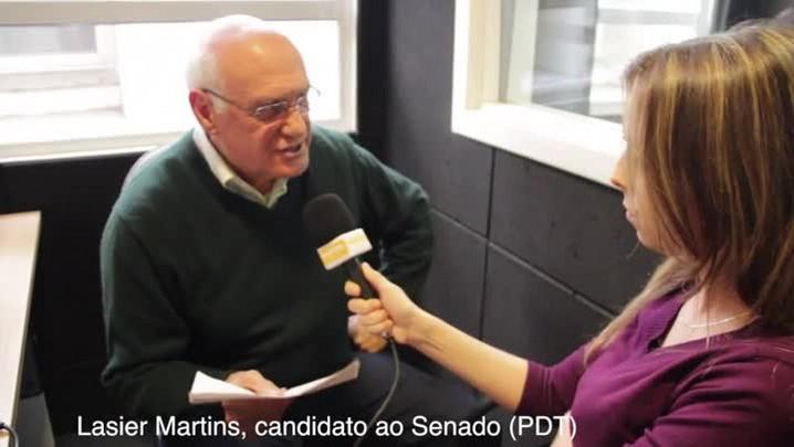Fala candidato: não me arrependo de nada, os erros nos ajudam a aprender diz Lasier Martins