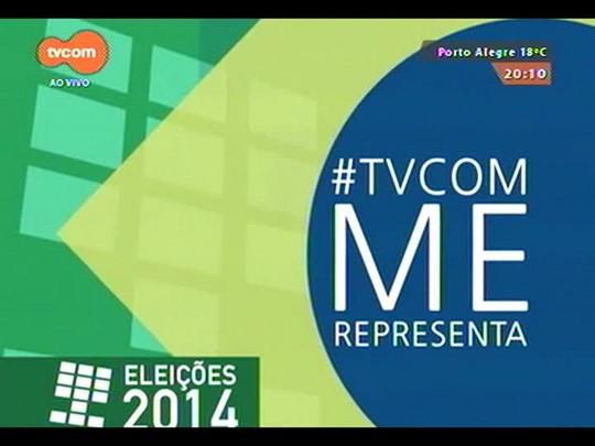 TVCOM 20 Horas - O que pode e o que não pode sobre a propaganda política até o dia da votação? - Bloco 2 - 01/10/2014
