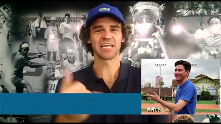 Gustavo Kuerten manda recado para Joinville