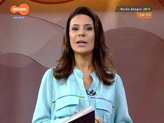 TVCOM 20 Horas - Informações sobre o trânsito em Porto Alegre e a lentidão na Freeway - 21/11/2014