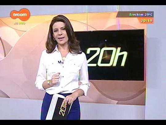 TVCOM 20 Horas - Campo Bom teve mais uma vez a temperatura mais alta do estado - 08/12/2014