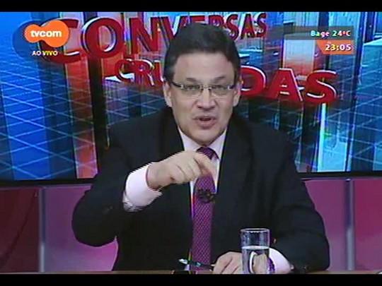 Conversas Cruzadas - Debate sobre os reflexos do Dólar na economia - Bloco 4 - 17/12/2014