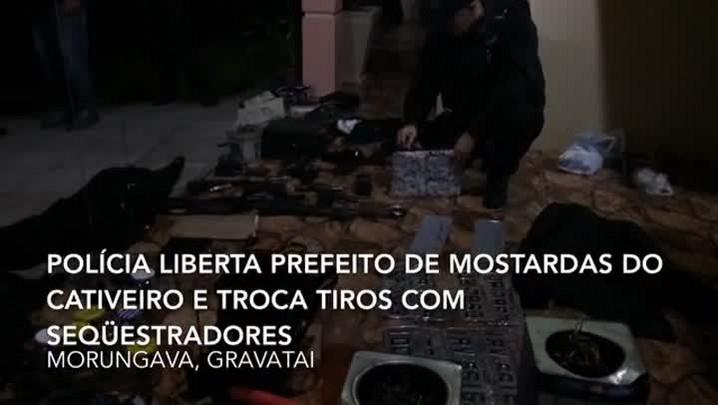 Após confronto em Gravataí, policia liberta prefeito de Mostardas de cativeiro