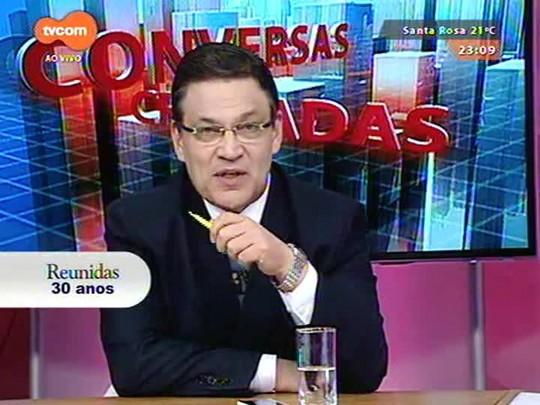 Conversas Cruzadas - Com a composição dos novos governos federal e estadual fica a pergunta: que Brasil saiu das urnas? - Bloco 3 - 29/12/2014