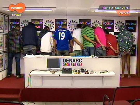 TVCOM 20 Horas - Presa quadrilha que atuava no centro da capital - 01/04/2015