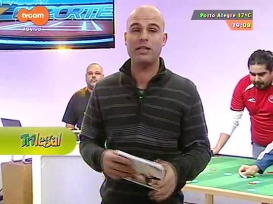 Super TVCOM Esportes - Trajetória profissional de Andrea Mognon