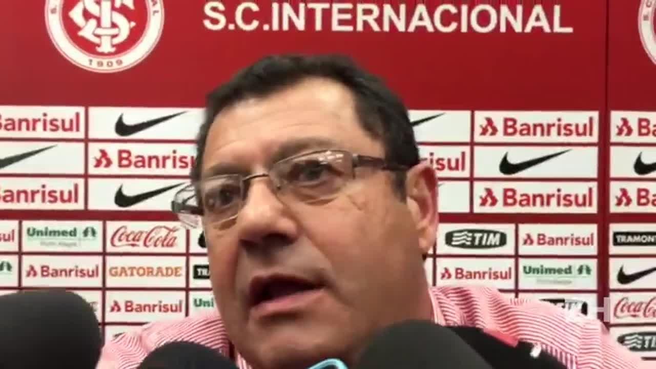 """Pellegrini fala da ansiedade do Inter em \""""matar o jogo\"""""""