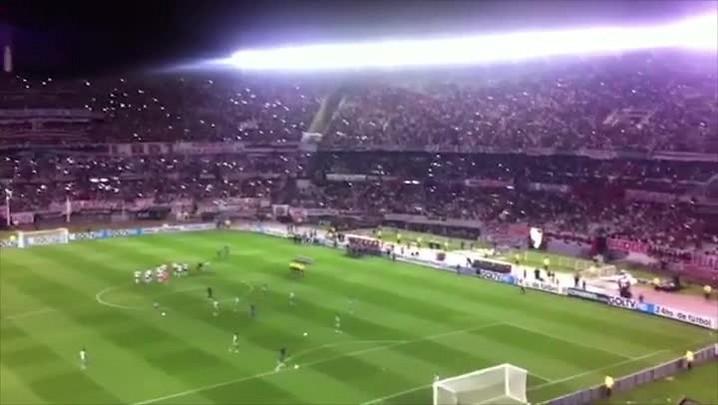 Torcida da Chapecoense marca presença em jogo histórico contra o River Plate