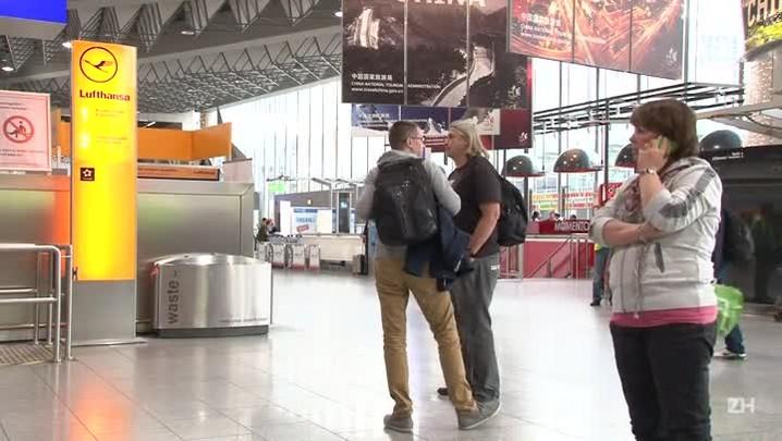 Lufthansa suspende quase 300 voos por causa da greve de tripulantes