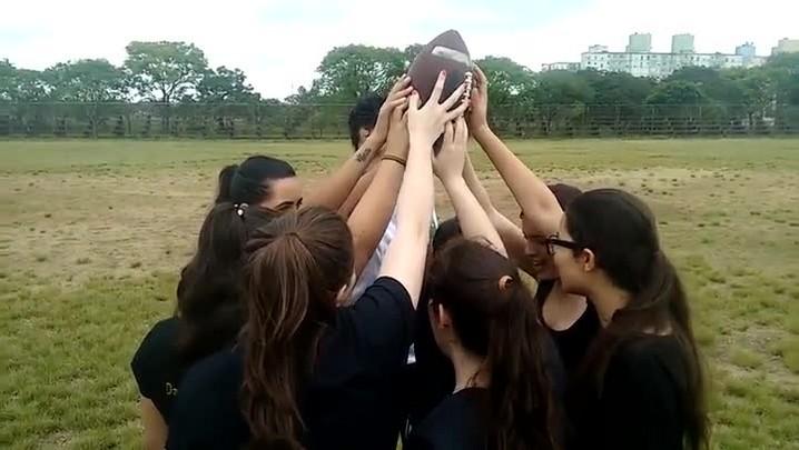 Porto Alegre tem o primeiro time de futebol americano feminino do RS