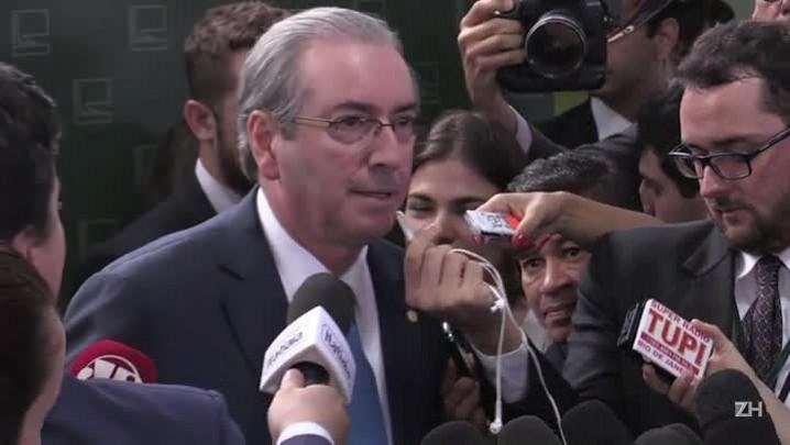 Cunha acusa Dilma de mentir à nação