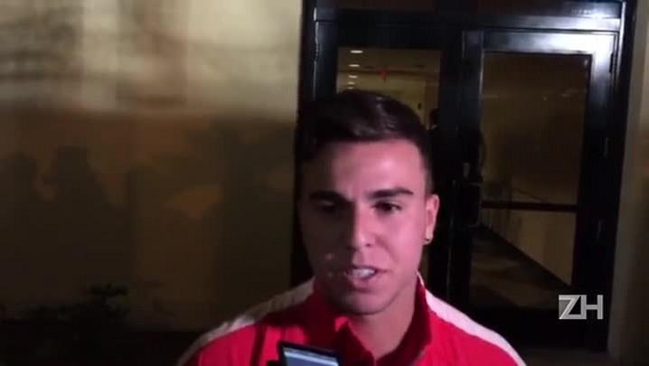 Andrigo fala sobre lance do terceiro gol do Inter