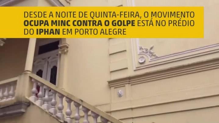 Ocupação do IPHAN em Porto Alegre
