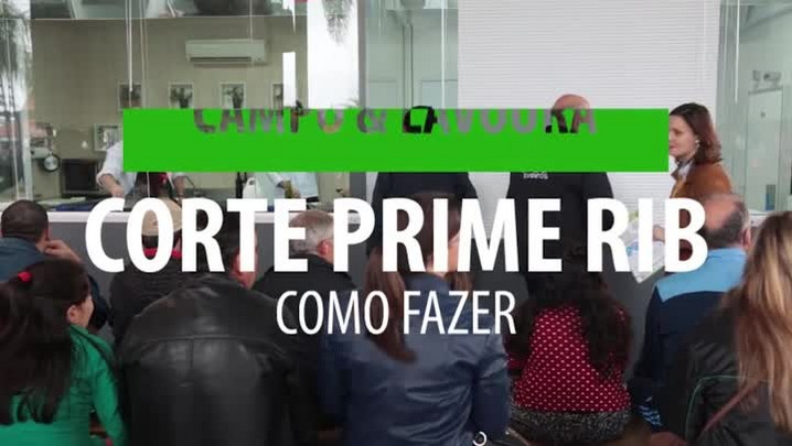 Como fazer um corte Prime RIB