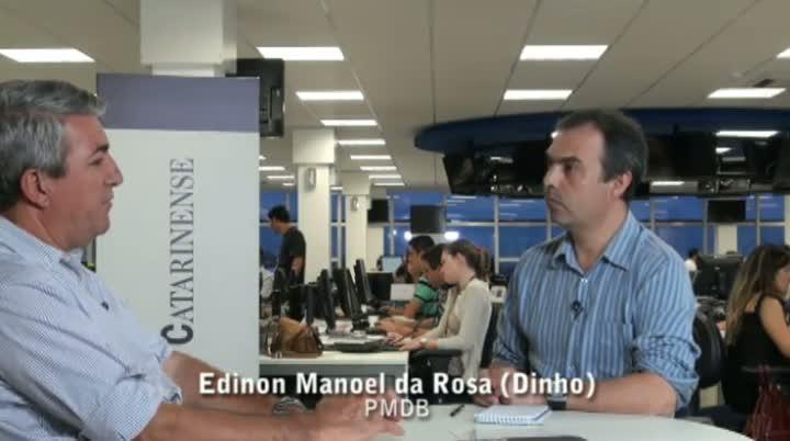 Vereadores eleitos da Capital - Entrevista com Edison Manoel da Rosa