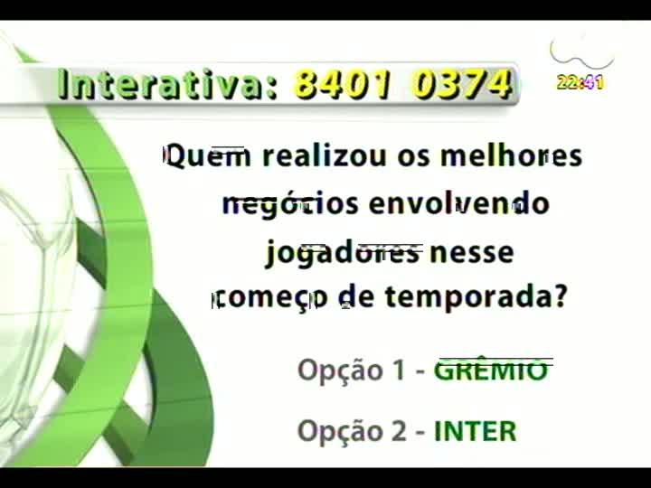 Bate Bola - 13/01/2013 - Bloco 4 - Copa São Paulo de Futebol Júnior