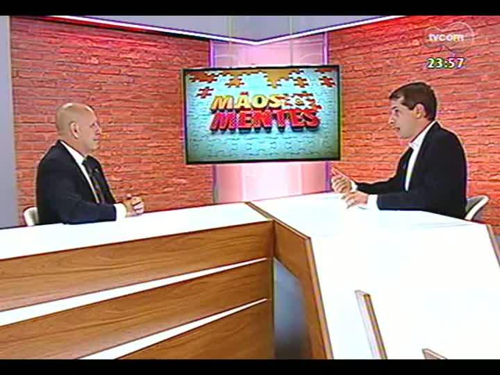 Mãos e Mentes - Palestrante, professor e doutor em Comunicação Dado Schneider - Bloco 3 - 22/01/2013