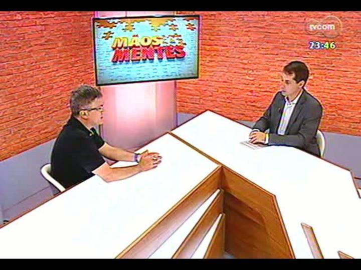 Mãos e Mentes - Membro da Academia Brasileira de Ciências, psiquiatra Flávio Kapczinski - Bloco 2 - 24/01/2013