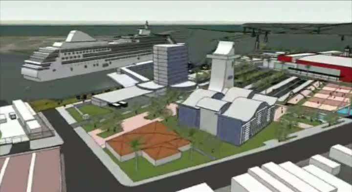 Estudo do futuro Complexo Turístico Portuário de Itajaí