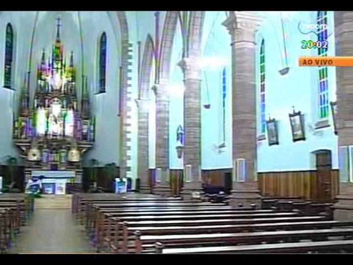 TVCOM 20 Horas - Fumaça preta na primeira votação do conclave - Bloco 1 - 12/03/2013
