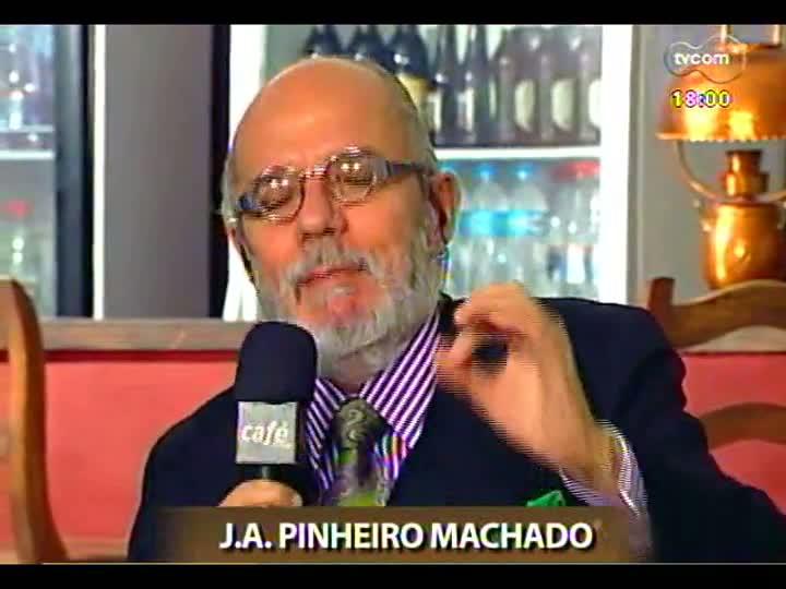 Café TVCOM - As novidades da Flip discutidas no \'Bar da Mata\' - Bloco 1 - 13/07/2013