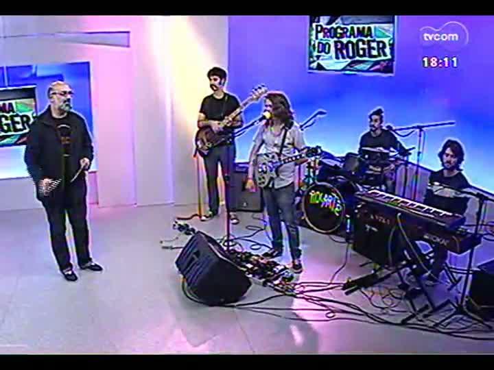Programa do Roger - Confira um bate papo com a banda Rocartê - bloco 3 - 02/08/2013