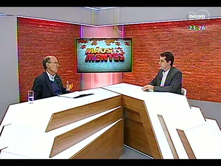 Mãos e Mentes - Presidente da companhia aérea TAP, Fernando Pinto - Bloco 3 - 01/09/2013