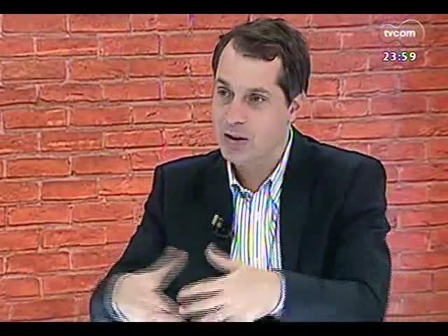 Mãos e Mentes - Empresário Andreas Renner Mentz, diretor executivo da Spirito Santo - Bloco 3 - 30/09/2013