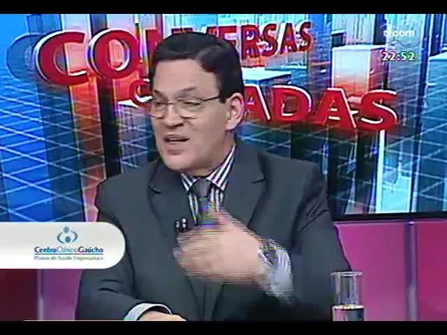 Conversas Cruzadas - Em debate, a avaliação do caos trazido pelas chuvas e alagamentos na Região Metropolitana - Bloco 3 - 24/10/2013