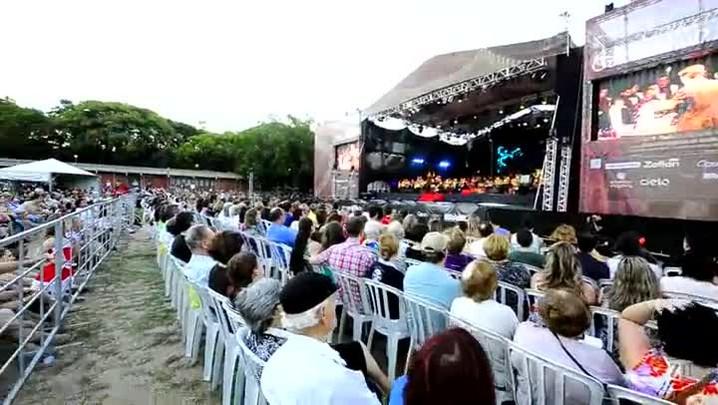 Concerto Especial de Natal do Zaffari é realizado no Parque Moinhos de Vento