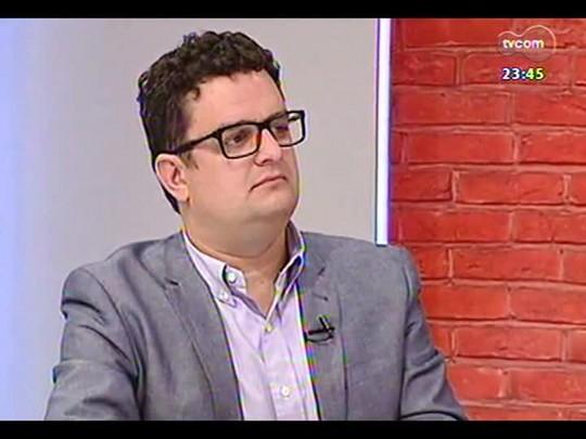 Mãos e Mentes - Empresário e diretor Comercial da Egali Intercâmbio Guilherme Reischl - Bloco 3 - 14/04/2014