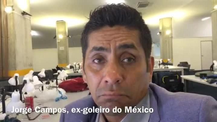Ex-goleiro do México projeta jogo difícil contra o Brasil