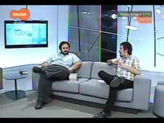 TVCOM Tudo Mais - Carlos André Moreira fala sobre obras de Moacyr Scliar e exposição com vida e obra do autor
