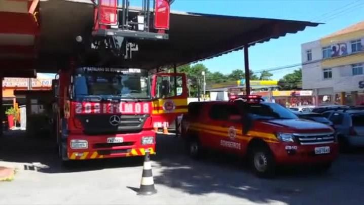 Protesto dos bombeiros