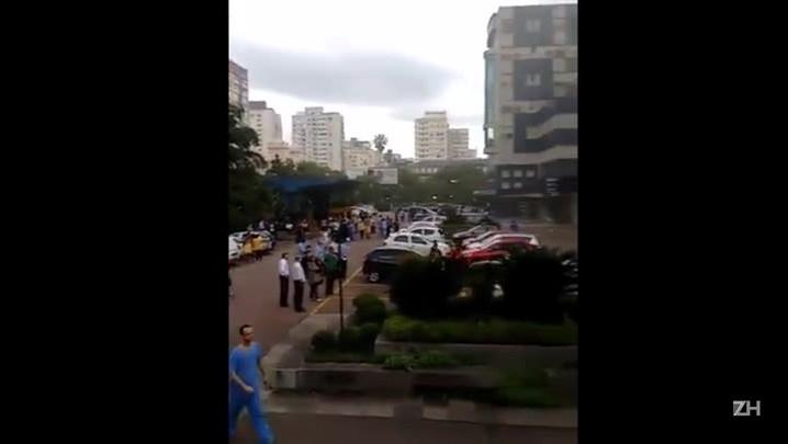 Incêndio atinge Hospital Dom Vicente Scherer