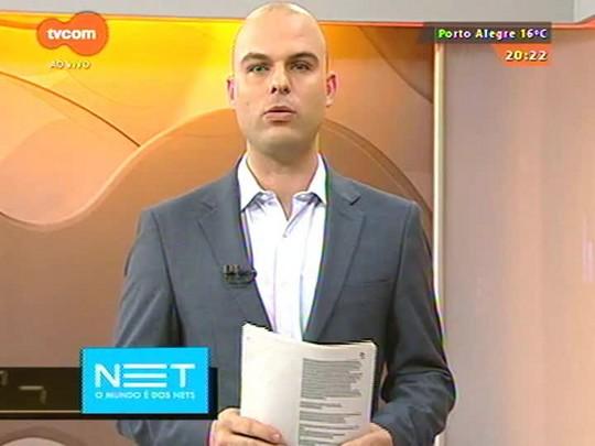 TVCOM 20 Horas - Ministro da Aviação Civil garante que Aeroporto Salgado Filho será entregue em 2016 à iniciativa privada - 08/07/2015