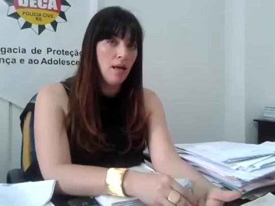 Delegada fala sobre prisão de suspeitos de exploração sexual e pedofilia