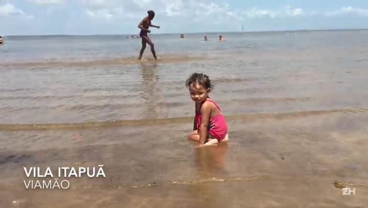 Conheça Itapuã, praia do Guaíba
