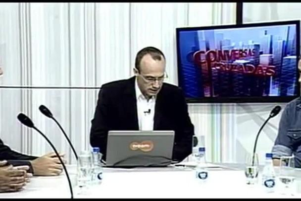 TVCOM Conversas Cruzadas. 4º Bloco. 11.04.16