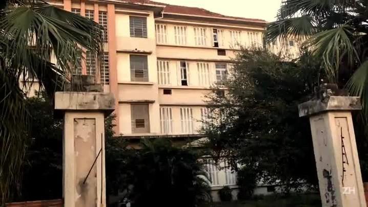 Prédio do antigo Hospital Santo Antônio segue sem uso em Porto Alegre