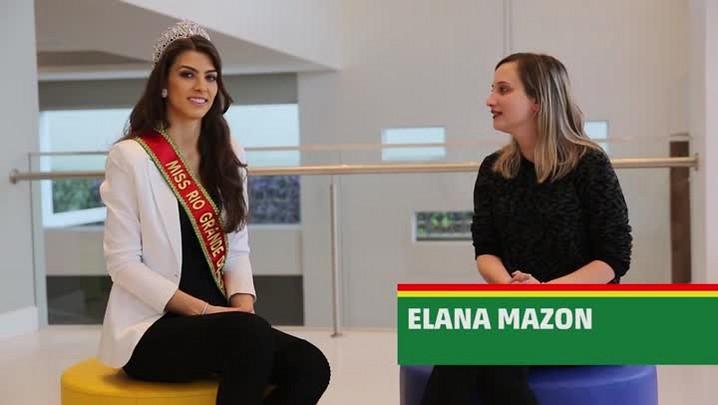 Miss Rio Grande do Sul 2016, Letícia Kuhn fala sobre a preparação para o Miss Brasil